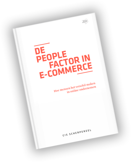 De People Factor in E-Commerce - Auteur: Cis Scherpereel
